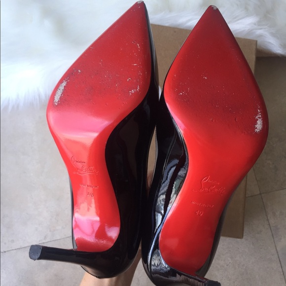 6d3c2b99ae18 Christian Louboutin Shoes - Christian Louboutin Pigalle 100 black size 40